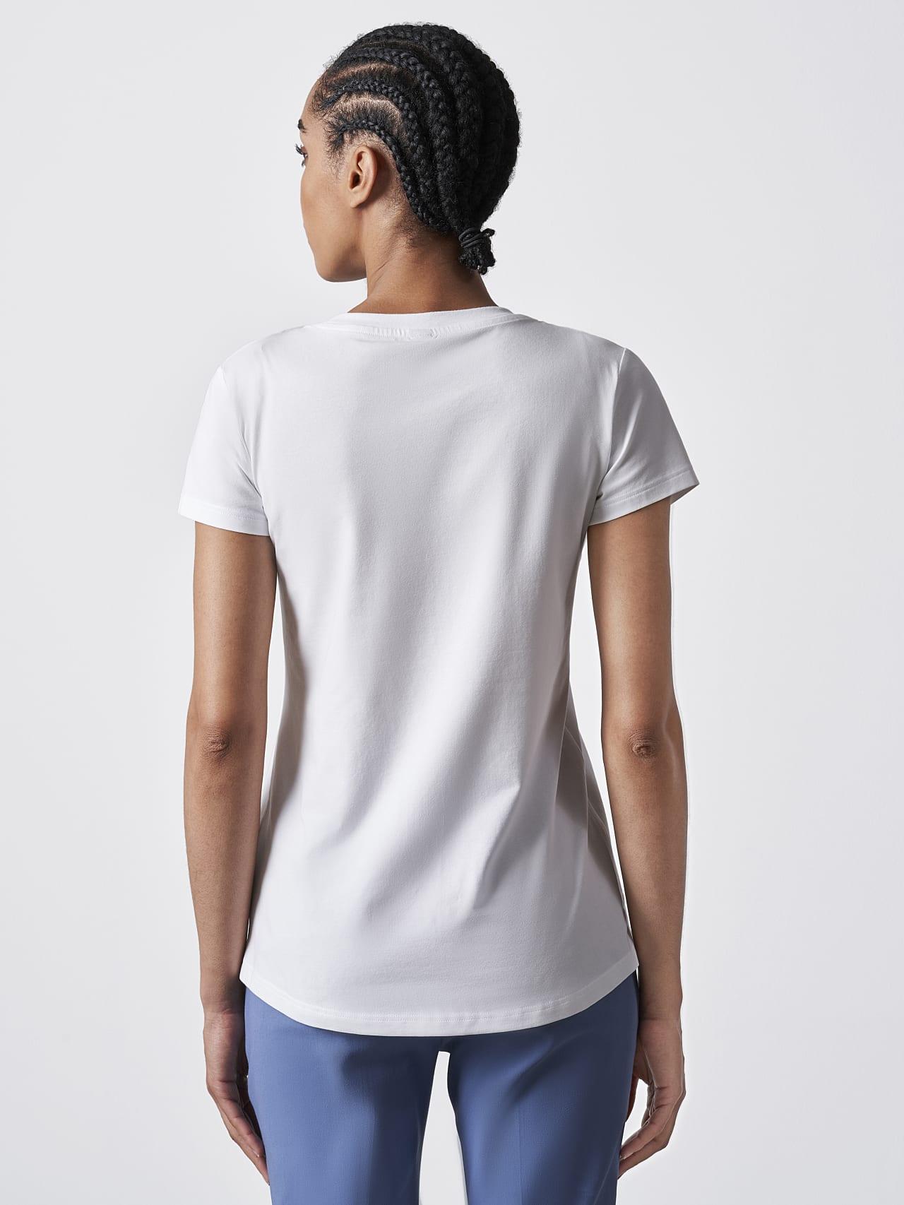 JERU V2.Y4.02 Signature Logo T-Shirt white Front Main Alpha Tauri