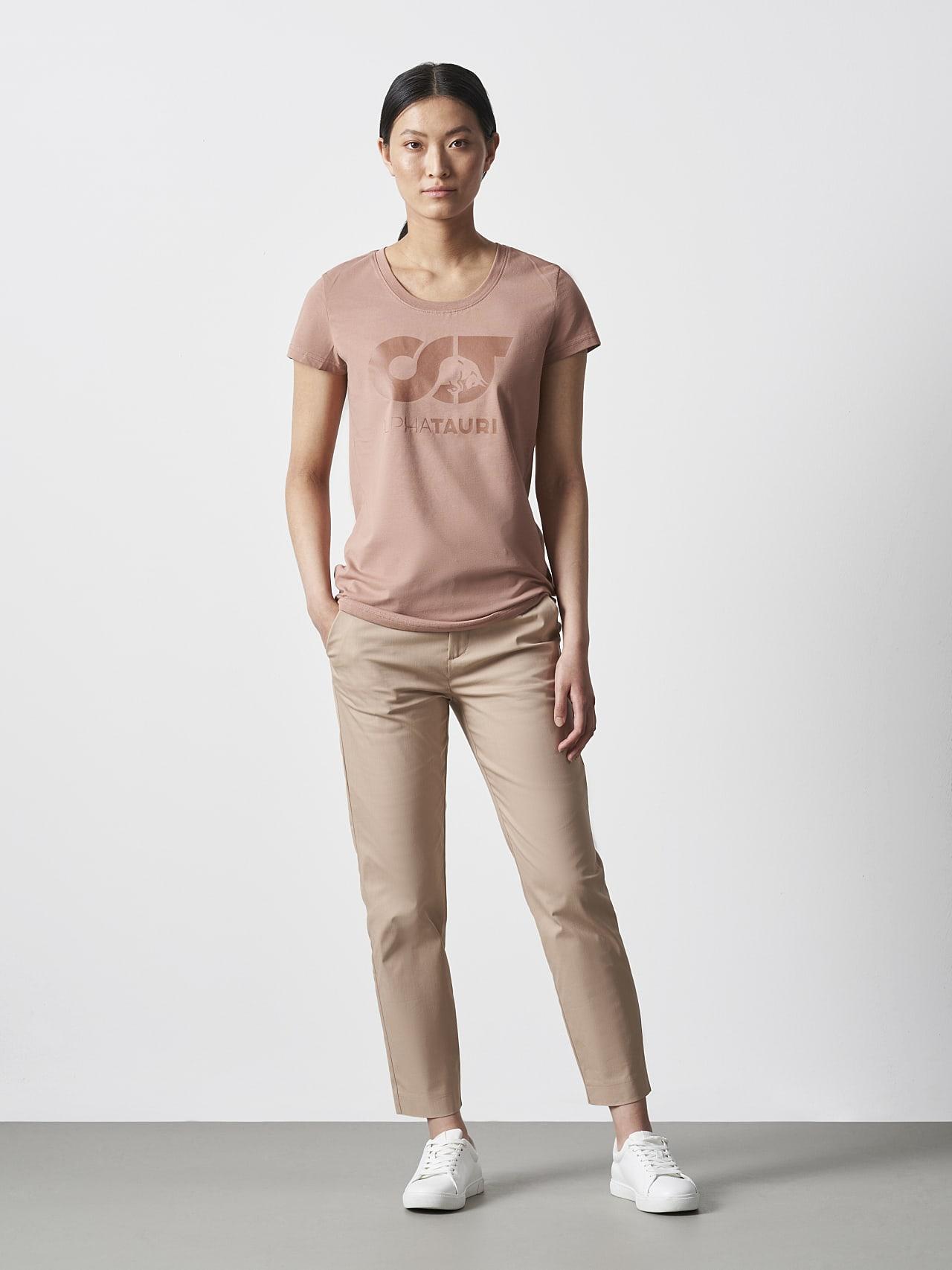 JERU V2.Y4.02 Signature Logo T-Shirt Rosé Vorne Alpha Tauri