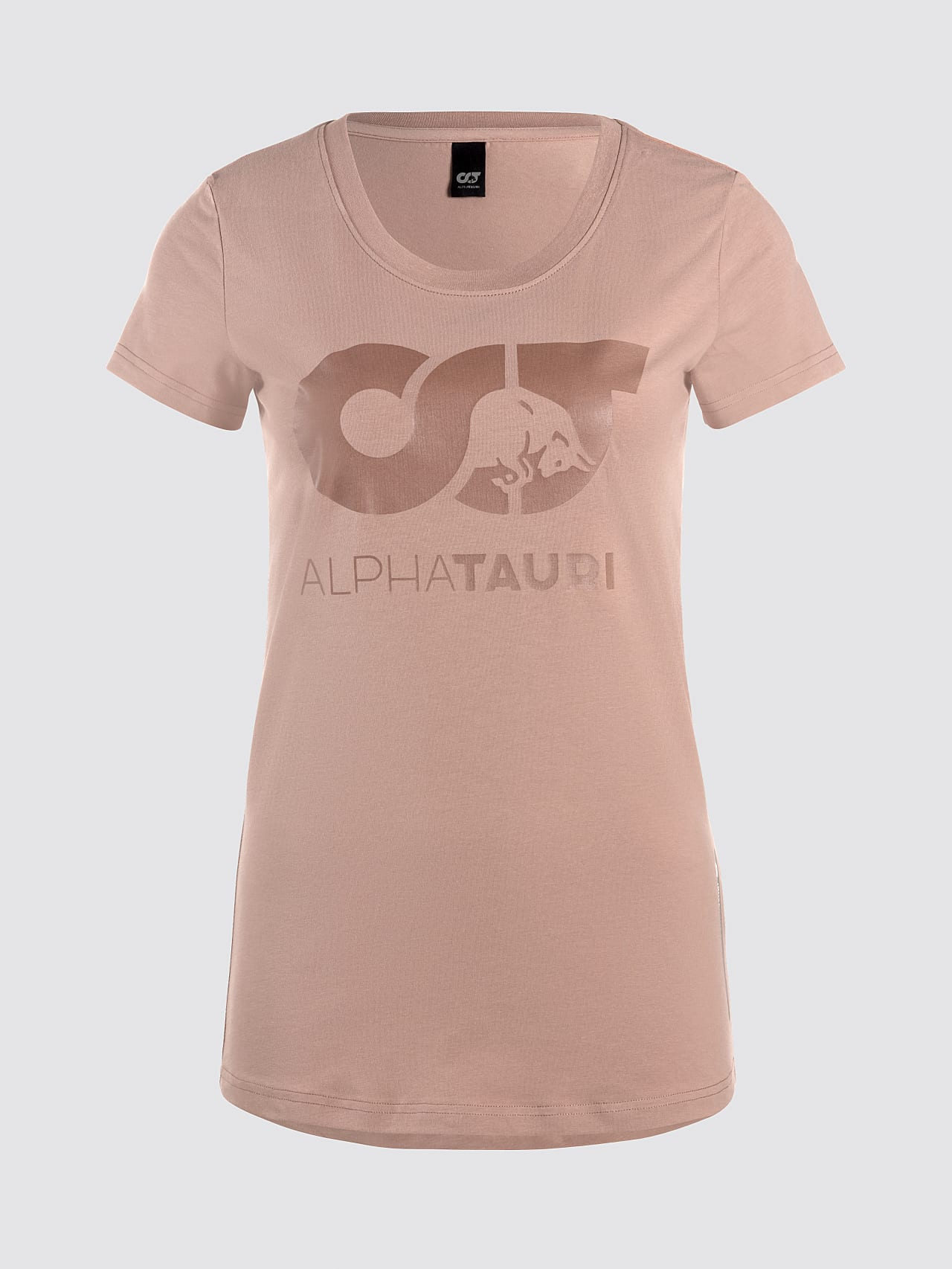 JERU V2.Y4.02 Signature Logo T-Shirt Rosé Hinten Alpha Tauri