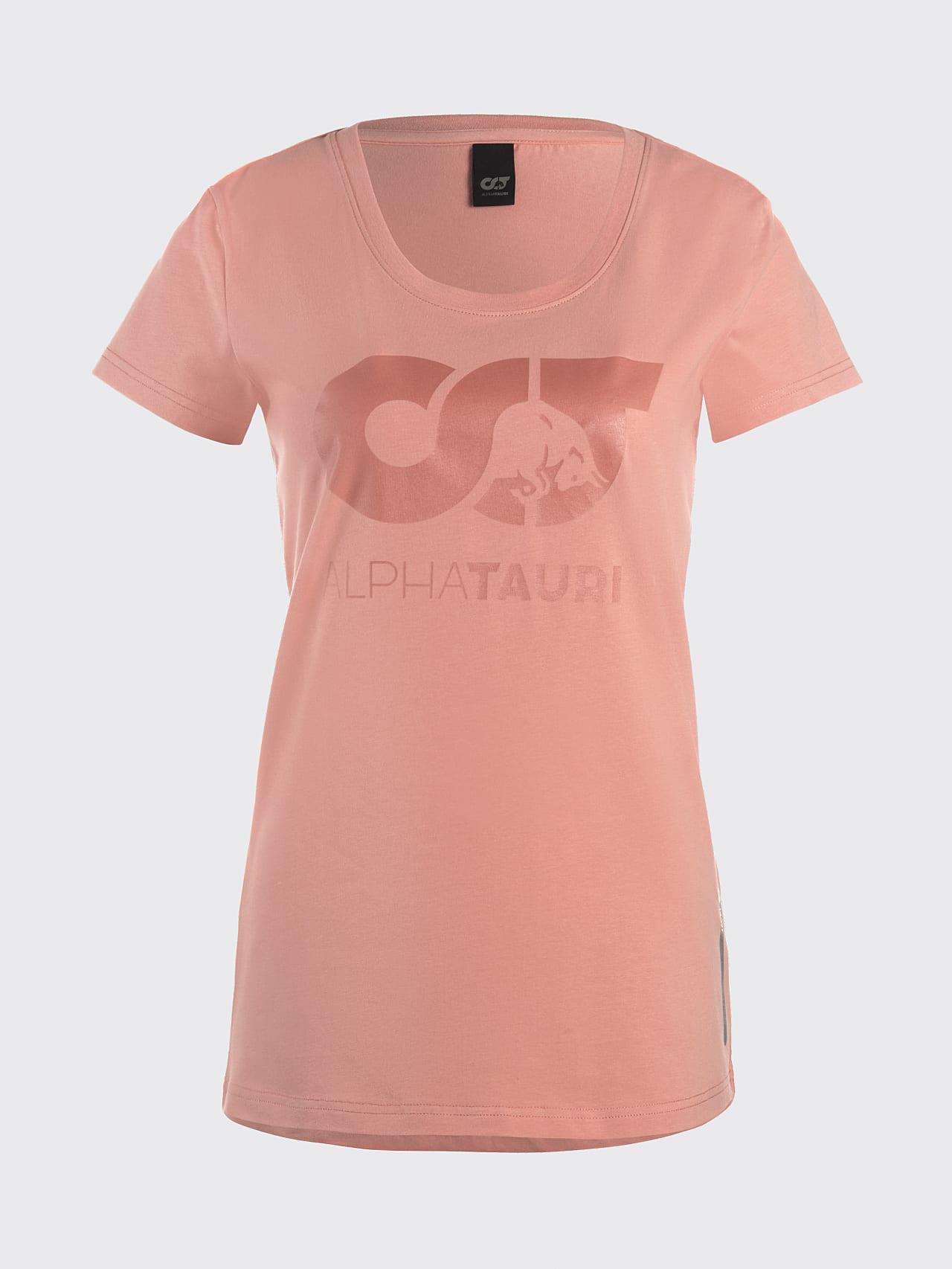 JERU V2.Y4.02 Signature Logo T-Shirt coral Back Alpha Tauri