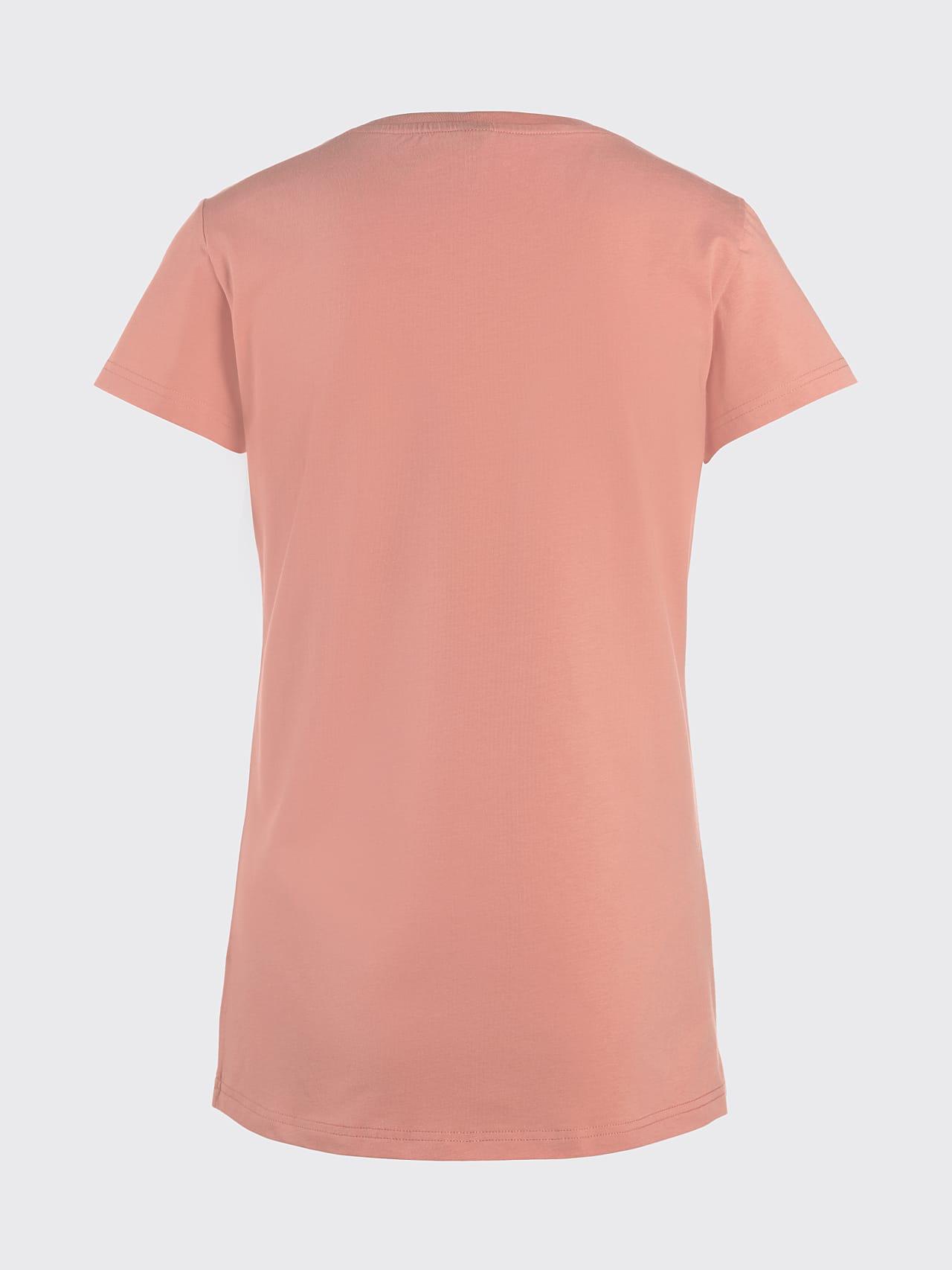 JERU V2.Y4.02 Signature Logo T-Shirt coral Left Alpha Tauri