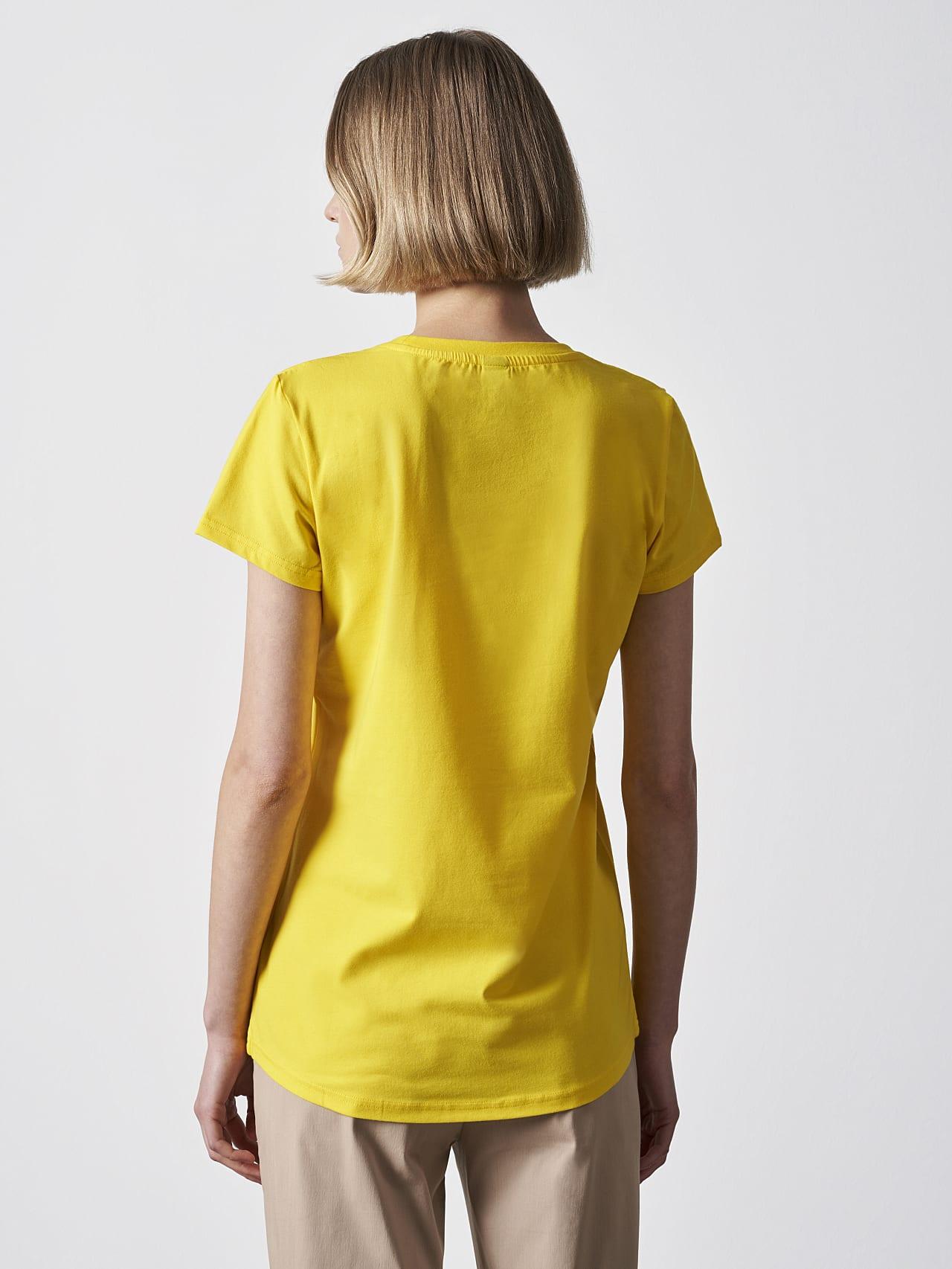 JERU V2.Y4.02 Signature Logo T-Shirt yellow Front Main Alpha Tauri