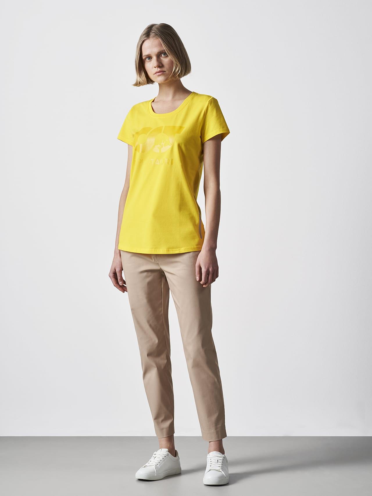 JERU V2.Y4.02 Signature Logo T-Shirt yellow Front Alpha Tauri