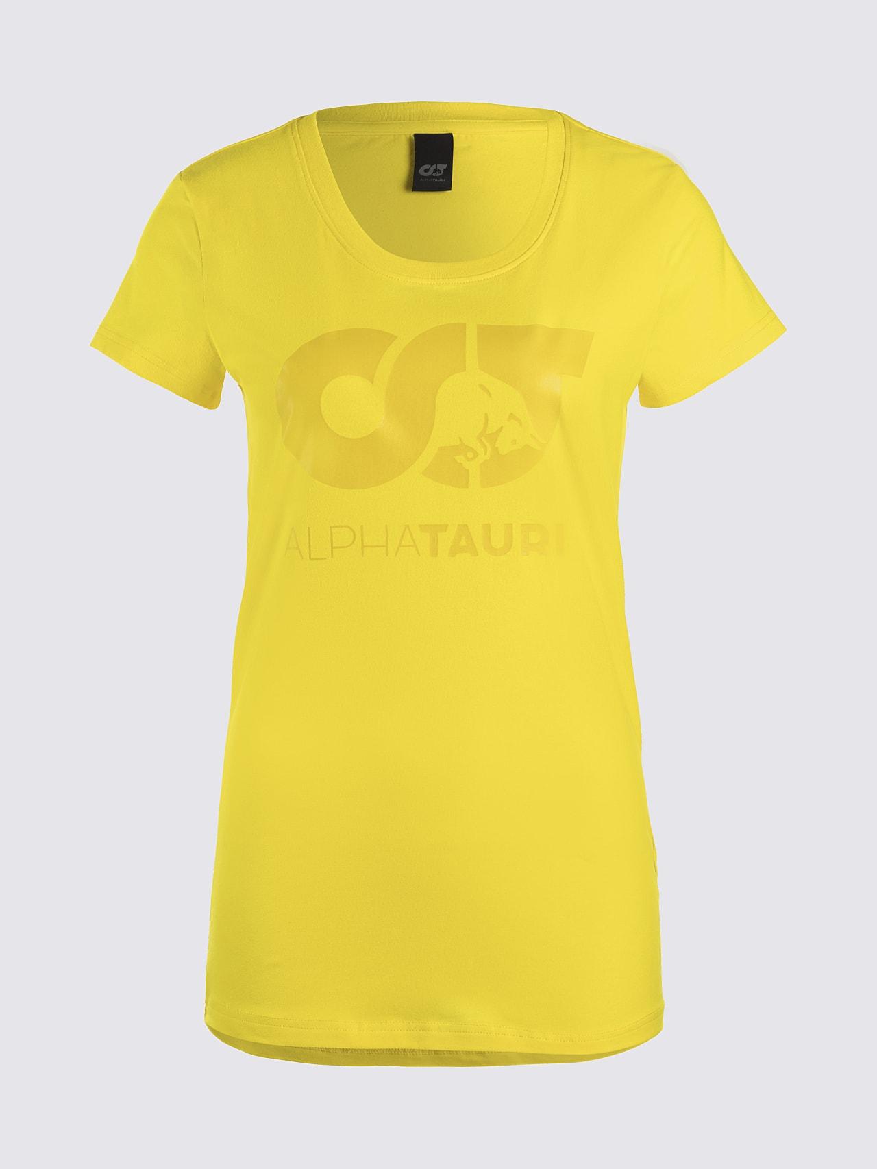 JERU V2.Y4.02 Signature Logo T-Shirt yellow Back Alpha Tauri