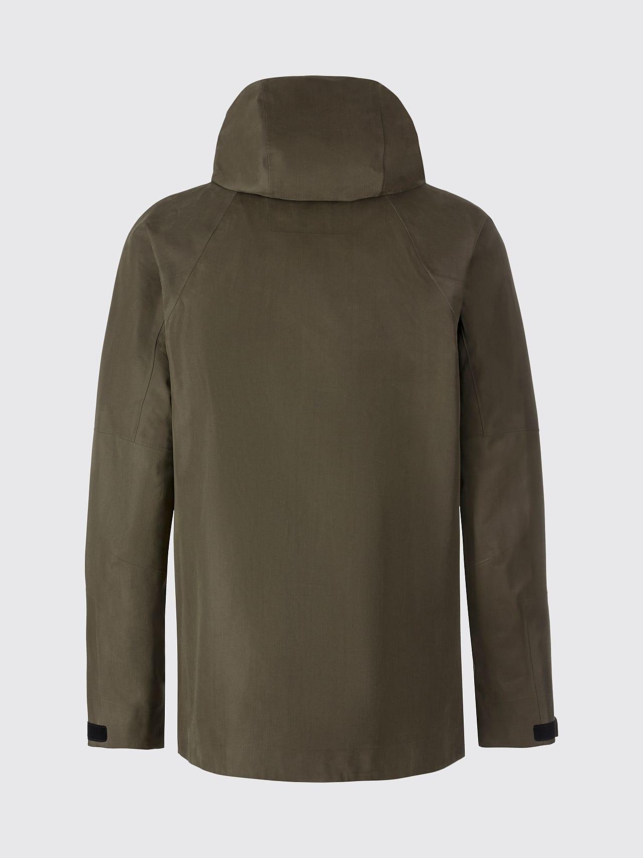 OKOVO V3.Y5.01 Packable Waterproof Jacket olive Left Alpha Tauri