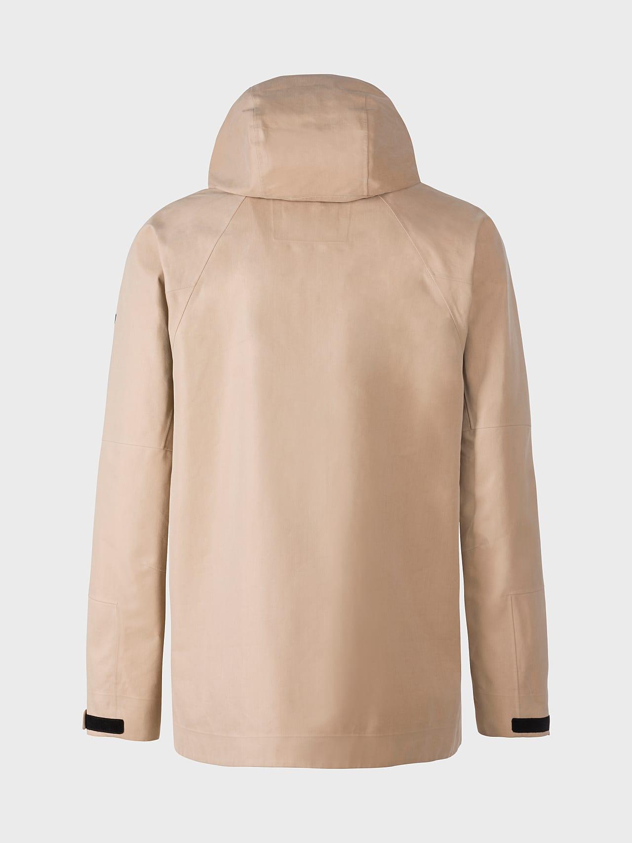 OKOVO V3.Y5.01 Packable Waterproof Jacket Sand Left Alpha Tauri