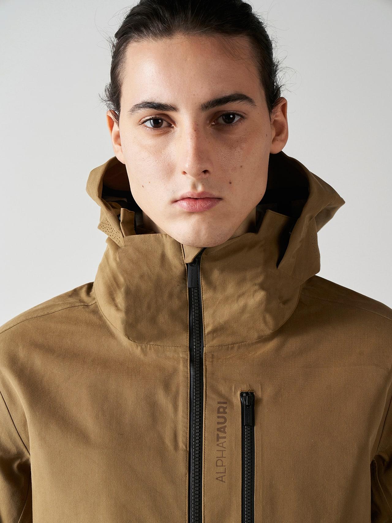 OKOVO V3.Y5.01 Packable Waterproof Jacket brown scene7.view.8.name Alpha Tauri