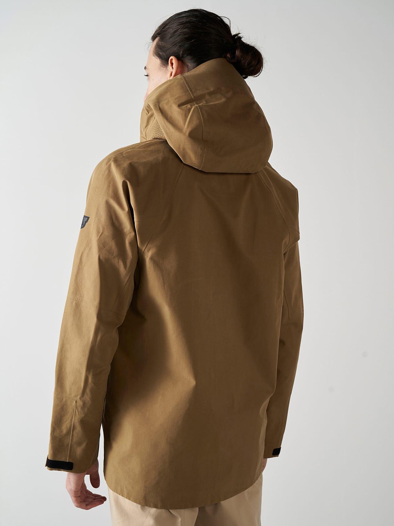 OKOVO V3.Y5.01 Packable Waterproof Jacket brown scene7.view.9.name Alpha Tauri