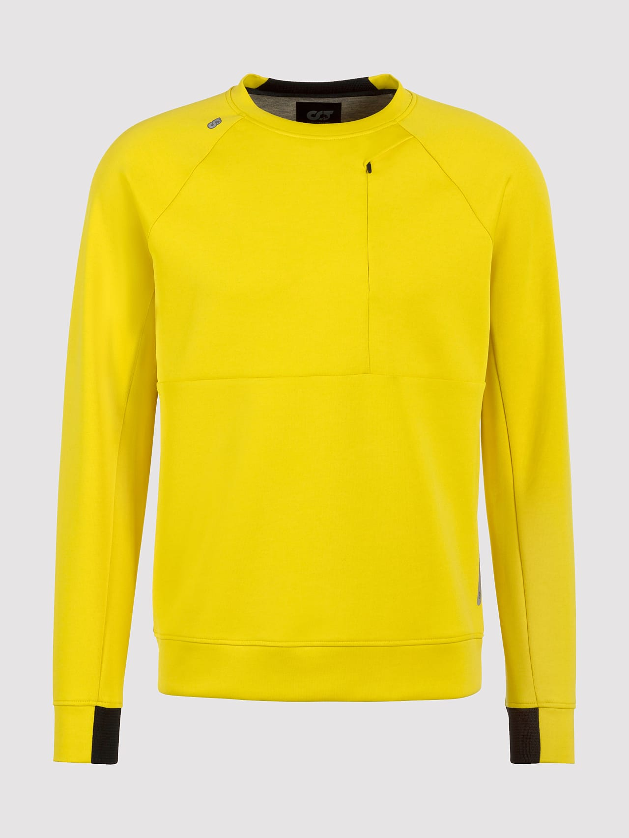 SUPRA V3.Y5.01 Technical Crewneck Sweater yellow Back Alpha Tauri