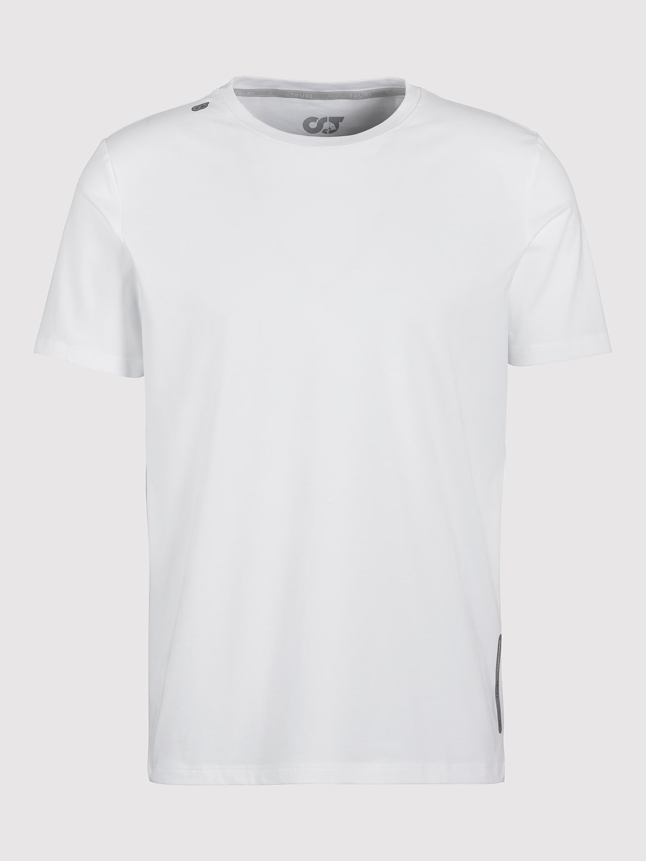 JALIP V1.Y5.01 Cotton Crew-Neck T-Shirt white Back Alpha Tauri