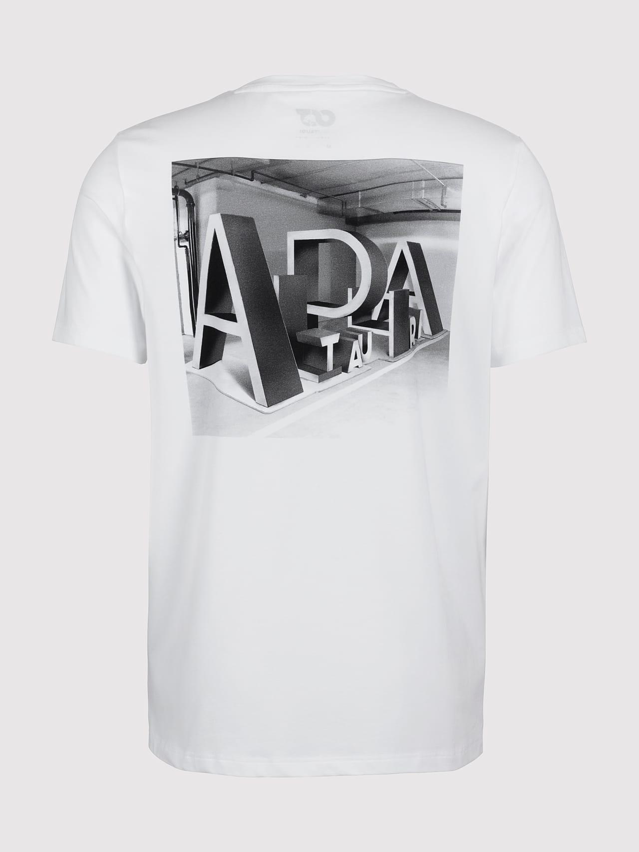 JALIP V1.Y5.01 Cotton Crew-Neck T-Shirt white Left Alpha Tauri