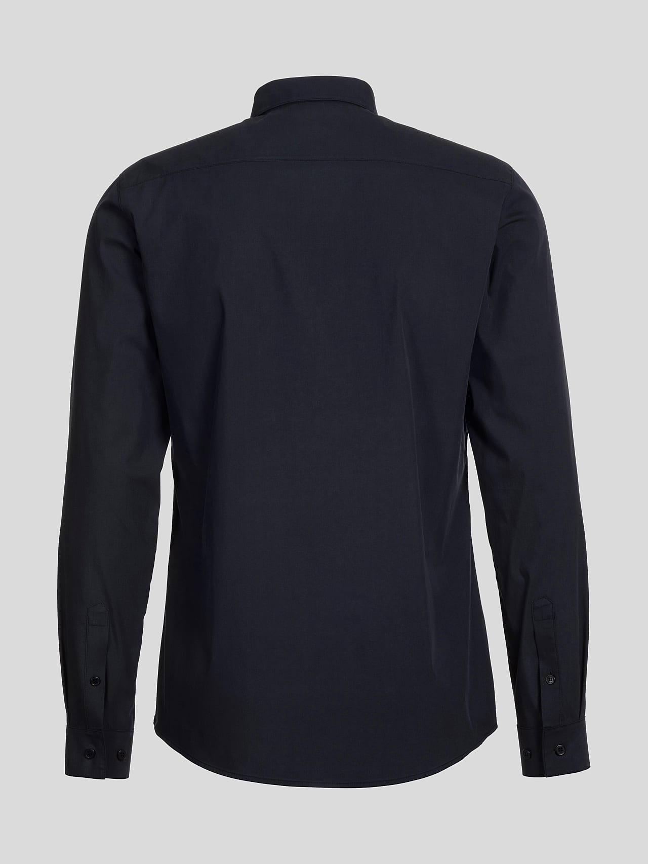 WAARG V1.Y5.01 Cotton-Stretch Shirt navy Left Alpha Tauri