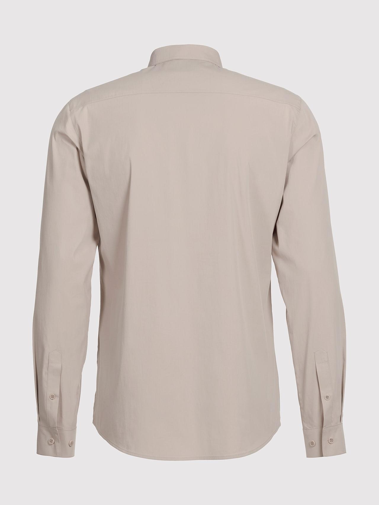 WAARG V1.Y5.01 Cotton-Stretch Shirt Sand Left Alpha Tauri
