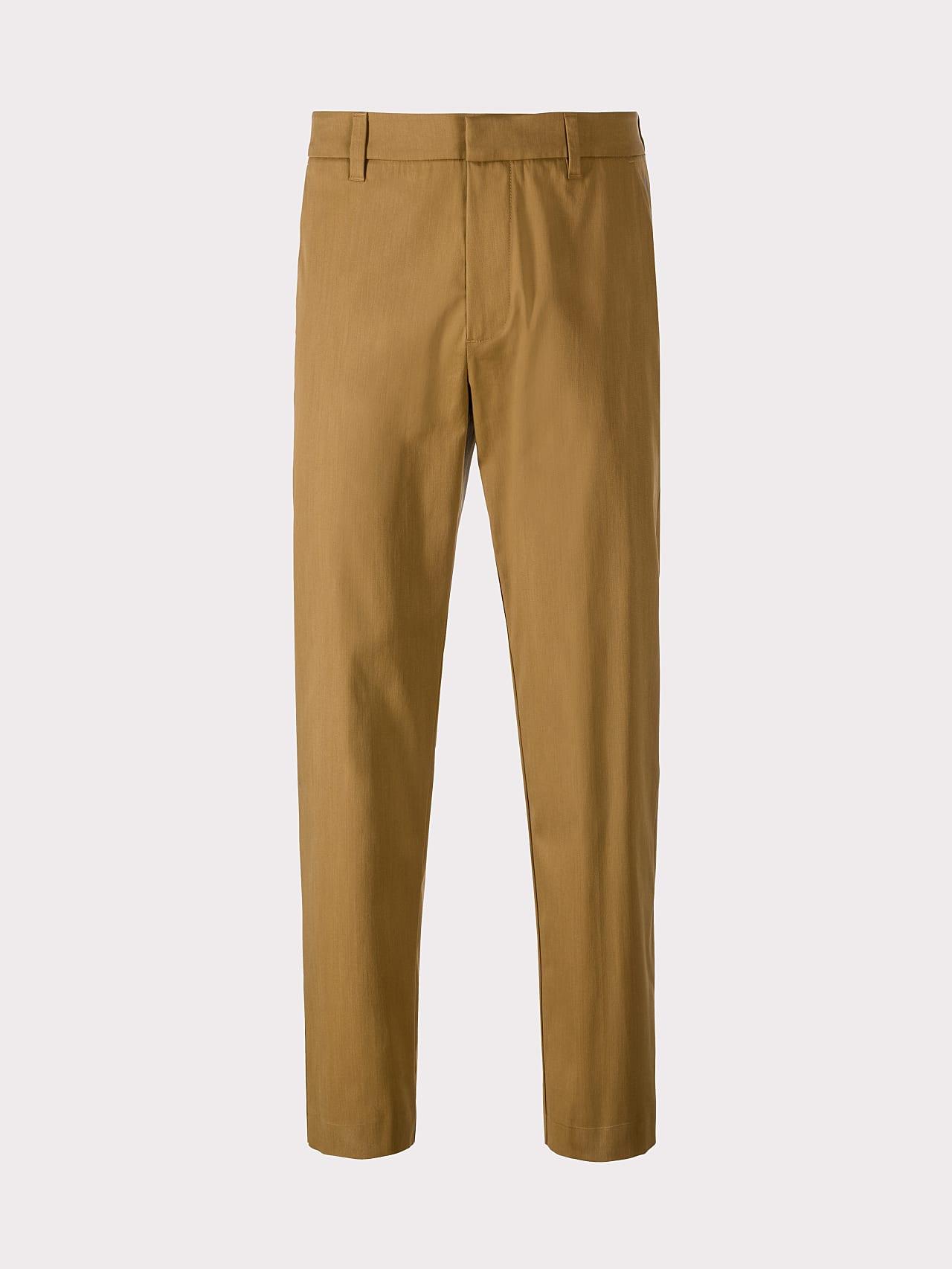 PLAIZ V2.Y5.01 Water-Repellent Cotton-Stretch Chino brown Back Alpha Tauri