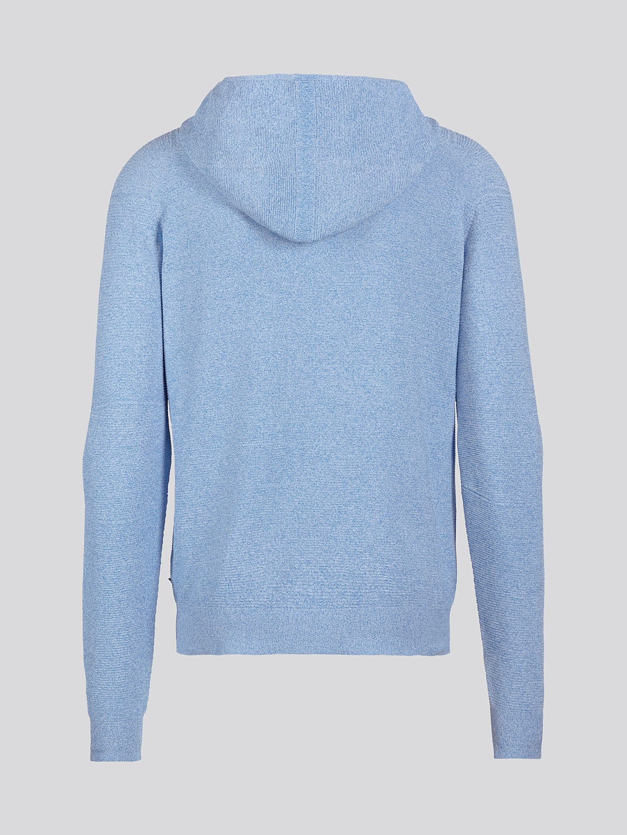 FURAP V3.Y5.01 Seamless Knit Hoodie blue / white Left Alpha Tauri