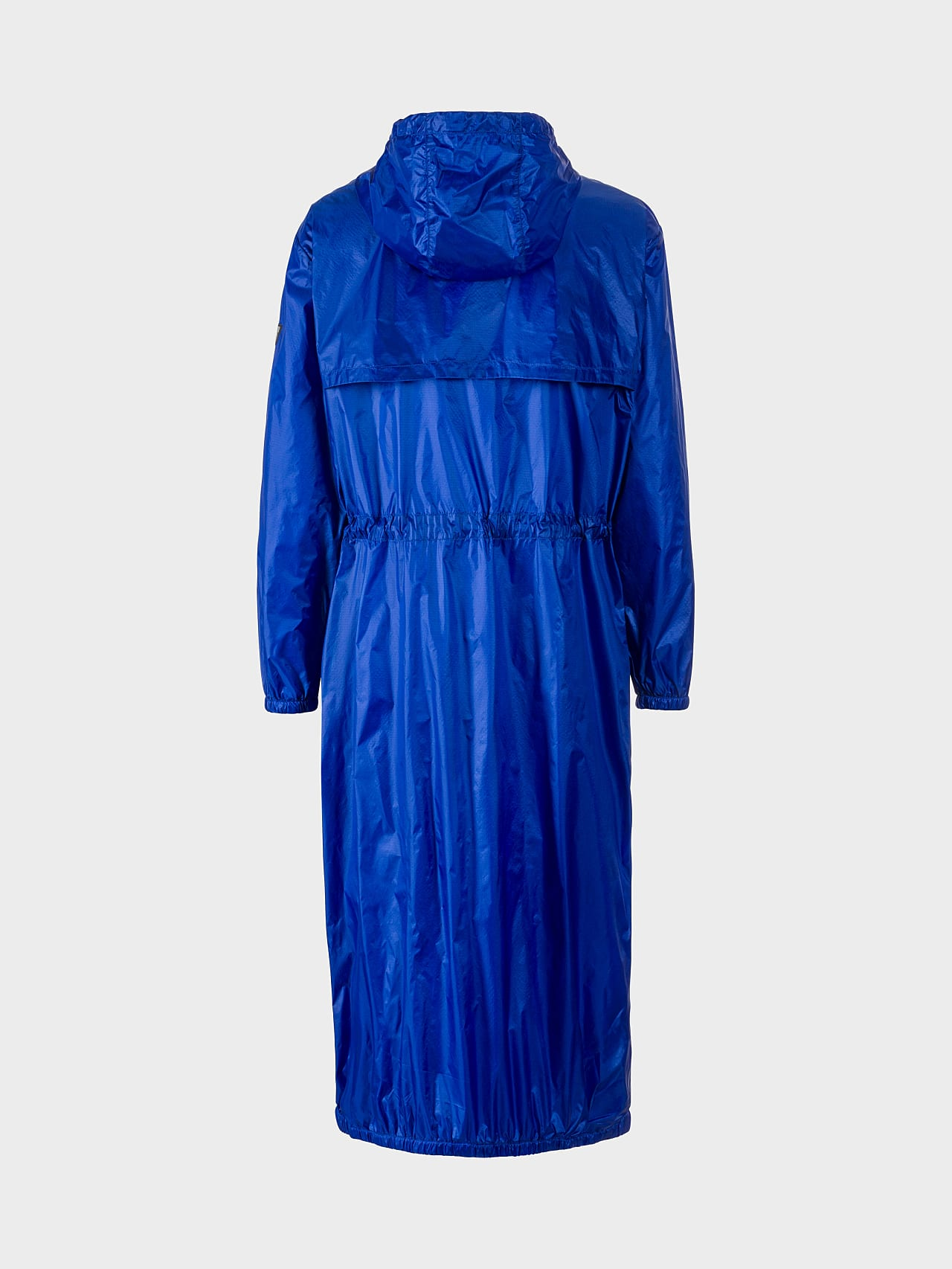OLONO V2.Y5.01 Packable Windbreaker Coat blue Left Alpha Tauri
