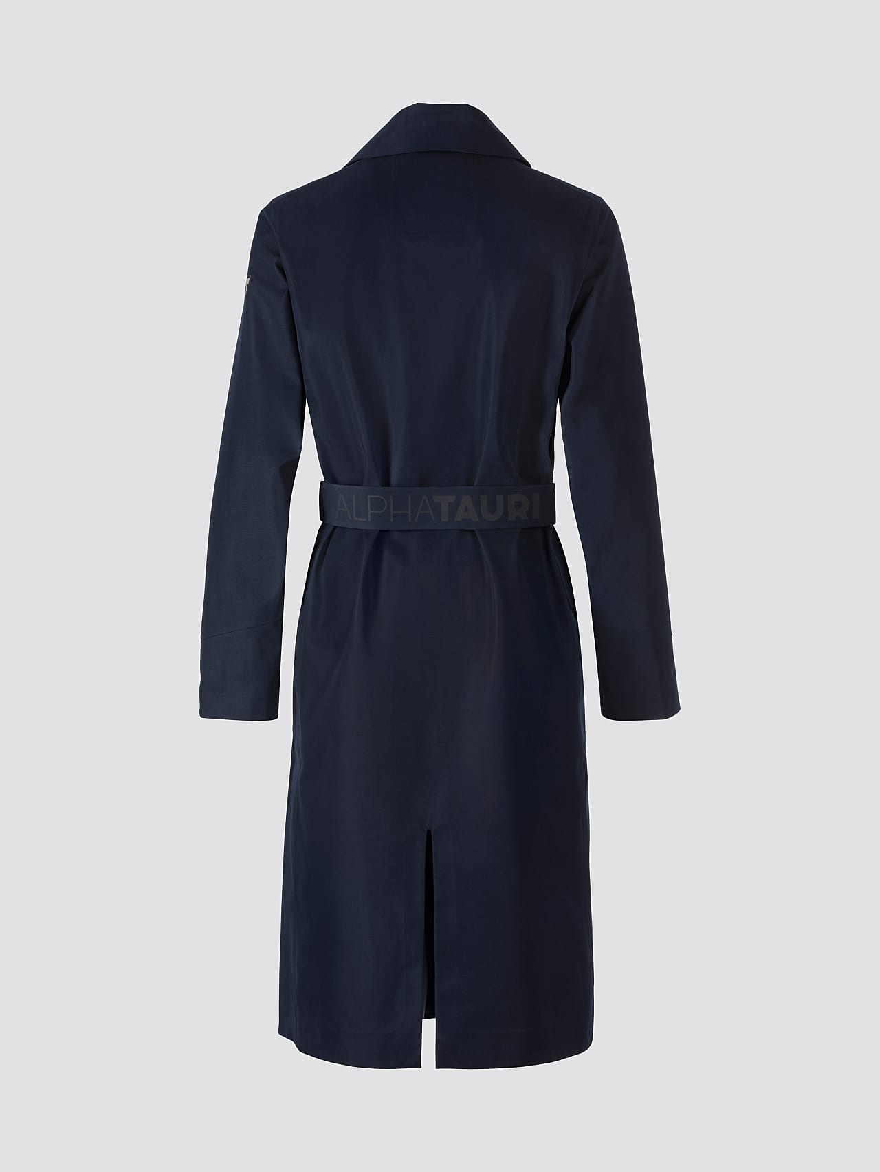 OZENZ V1.Y5.01 Packable Waterproof Trench navy Left Alpha Tauri