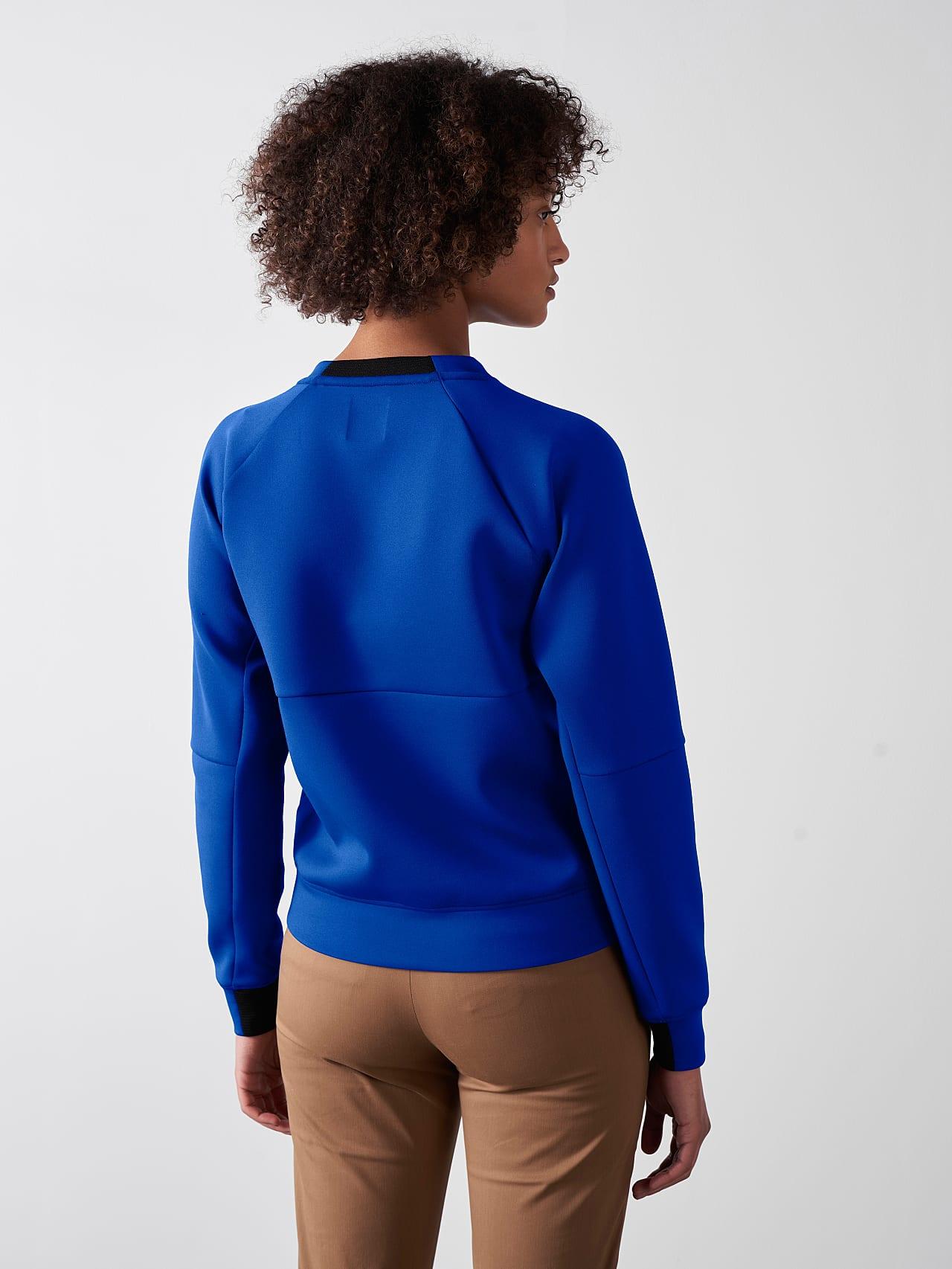 SINOV V1.Y5.01 Crewneck Sweater blue Front Main Alpha Tauri