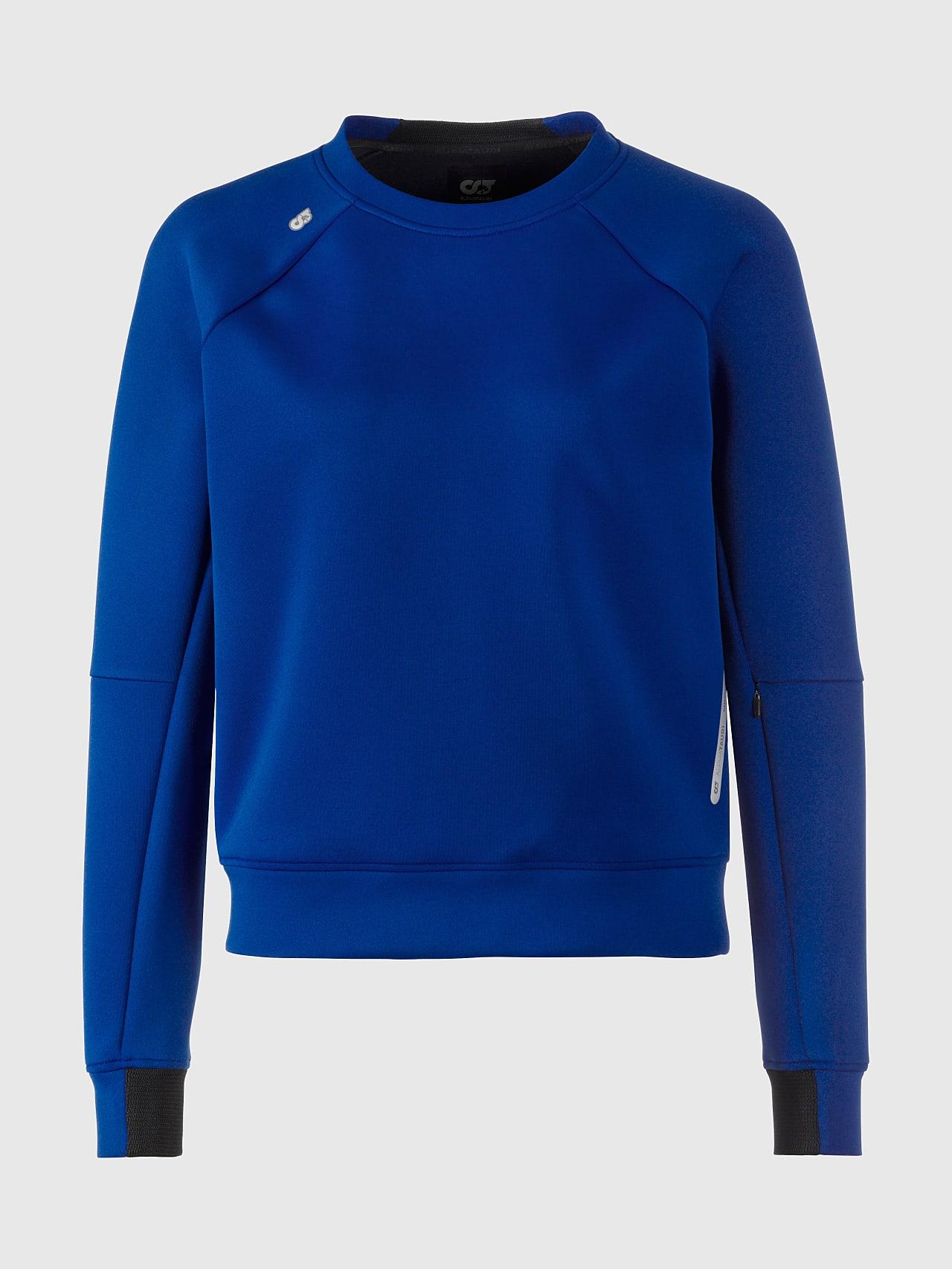 SINOV V1.Y5.01 Crewneck Sweater blue Back Alpha Tauri