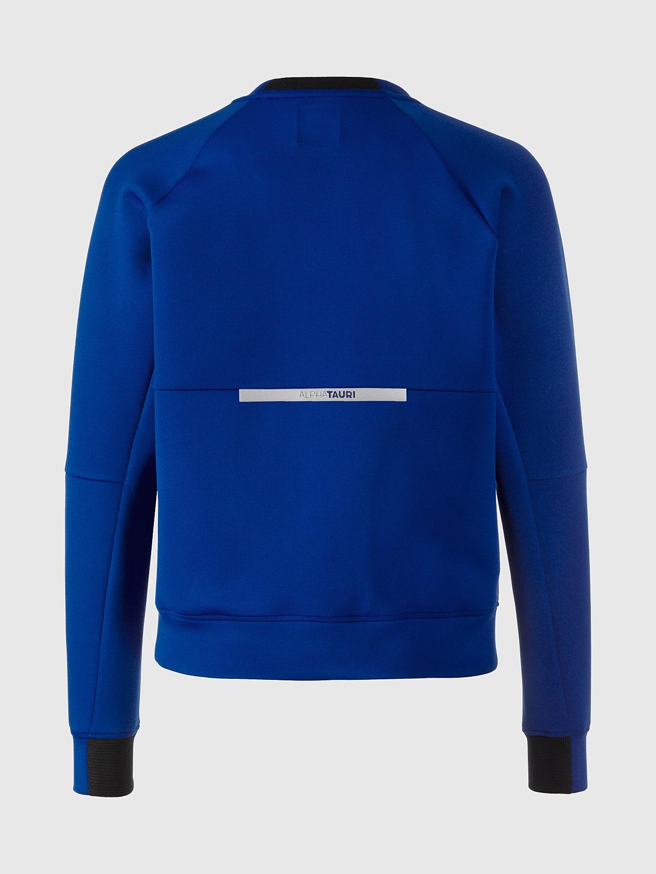 SINOV V1.Y5.01 Crewneck Sweater blue Left Alpha Tauri