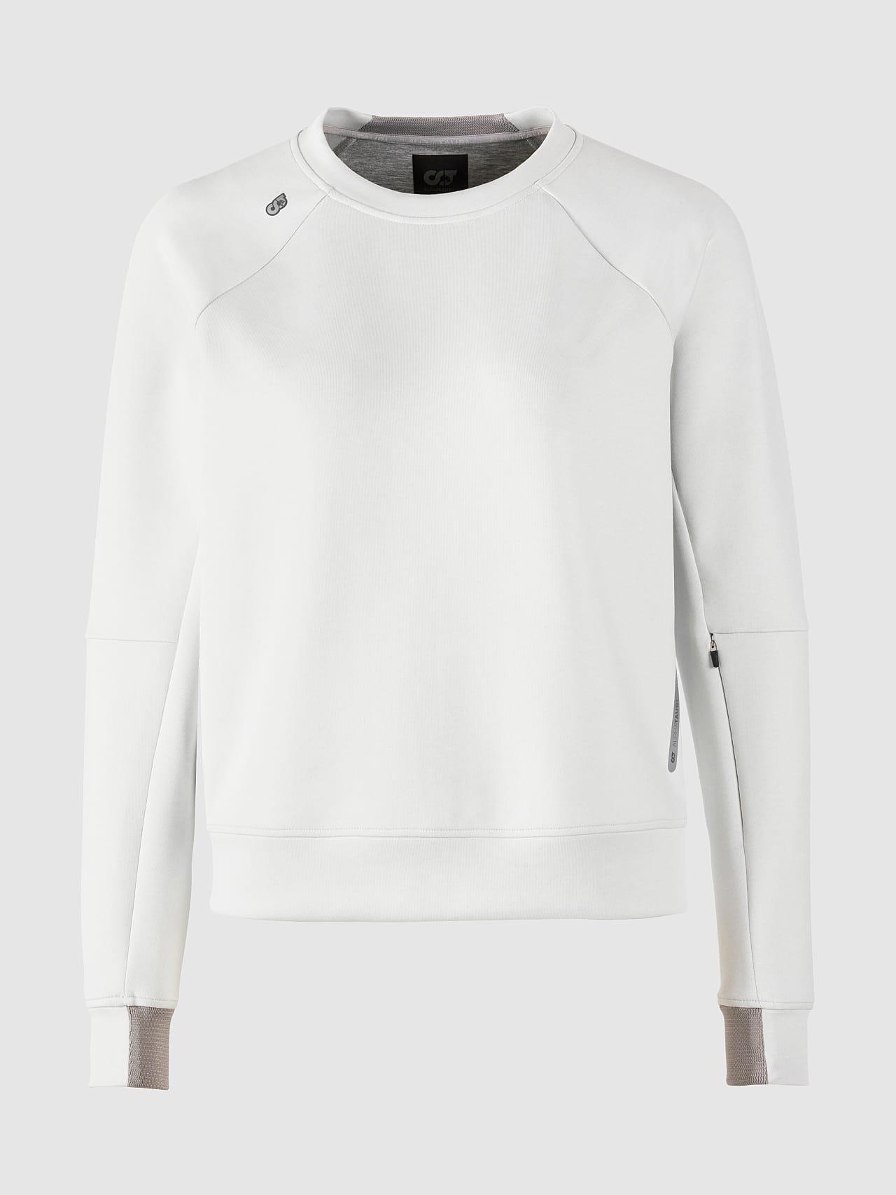 SINOV V1.Y5.01 Crewneck Sweater offwhite Back Alpha Tauri