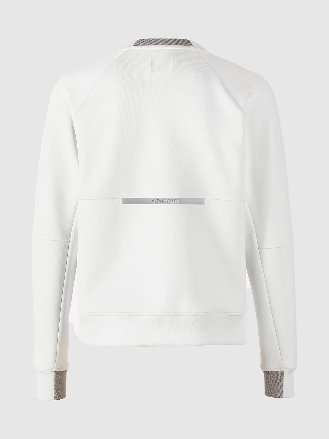 SINOV V1.Y5.01 Crewneck Sweater offwhite Left Alpha Tauri