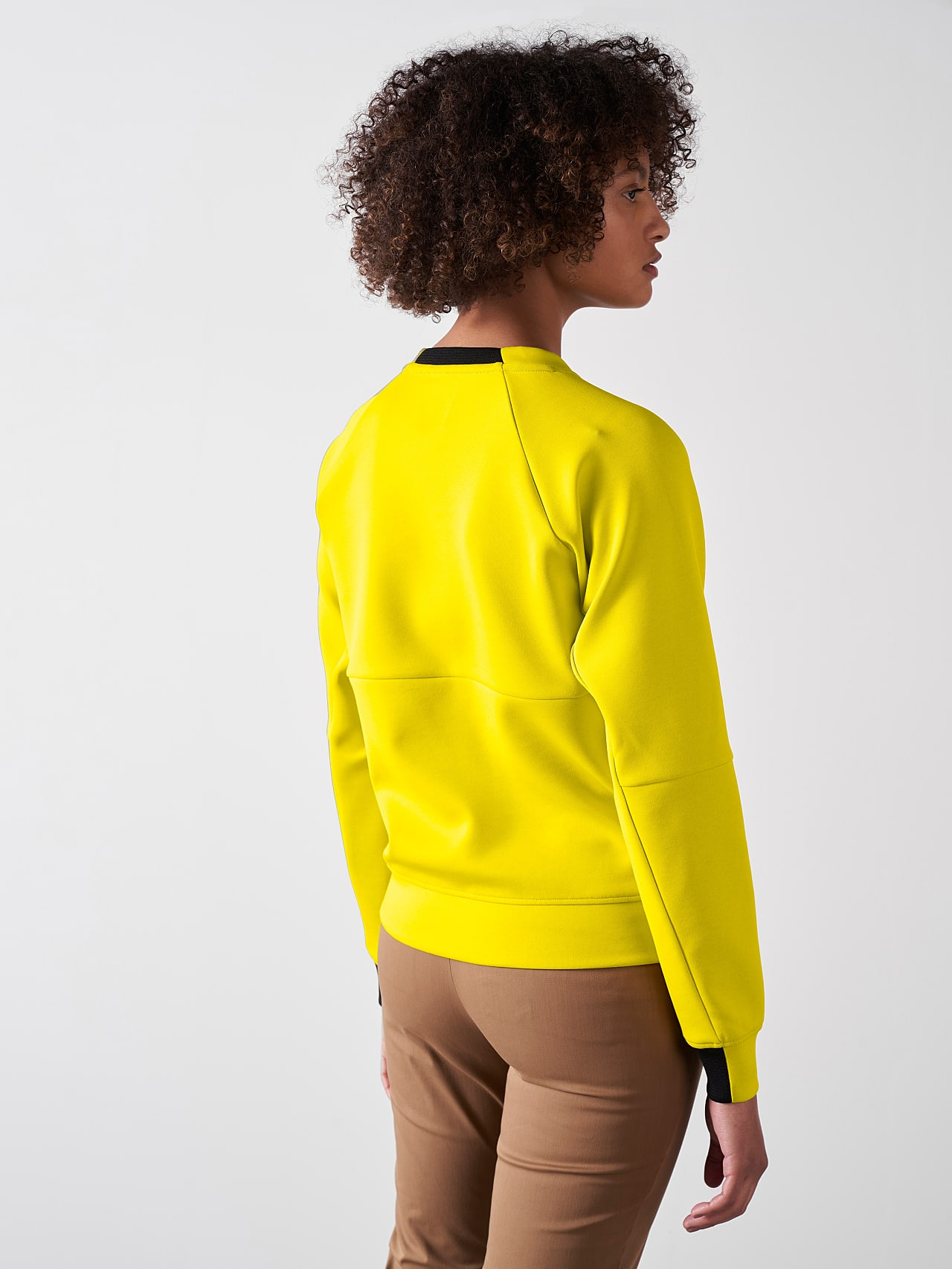SINOV V1.Y5.01 Crewneck Sweater yellow Front Main Alpha Tauri