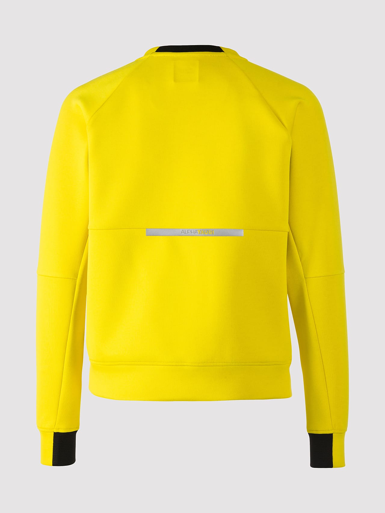 SINOV V1.Y5.01 Crewneck Sweater yellow Left Alpha Tauri
