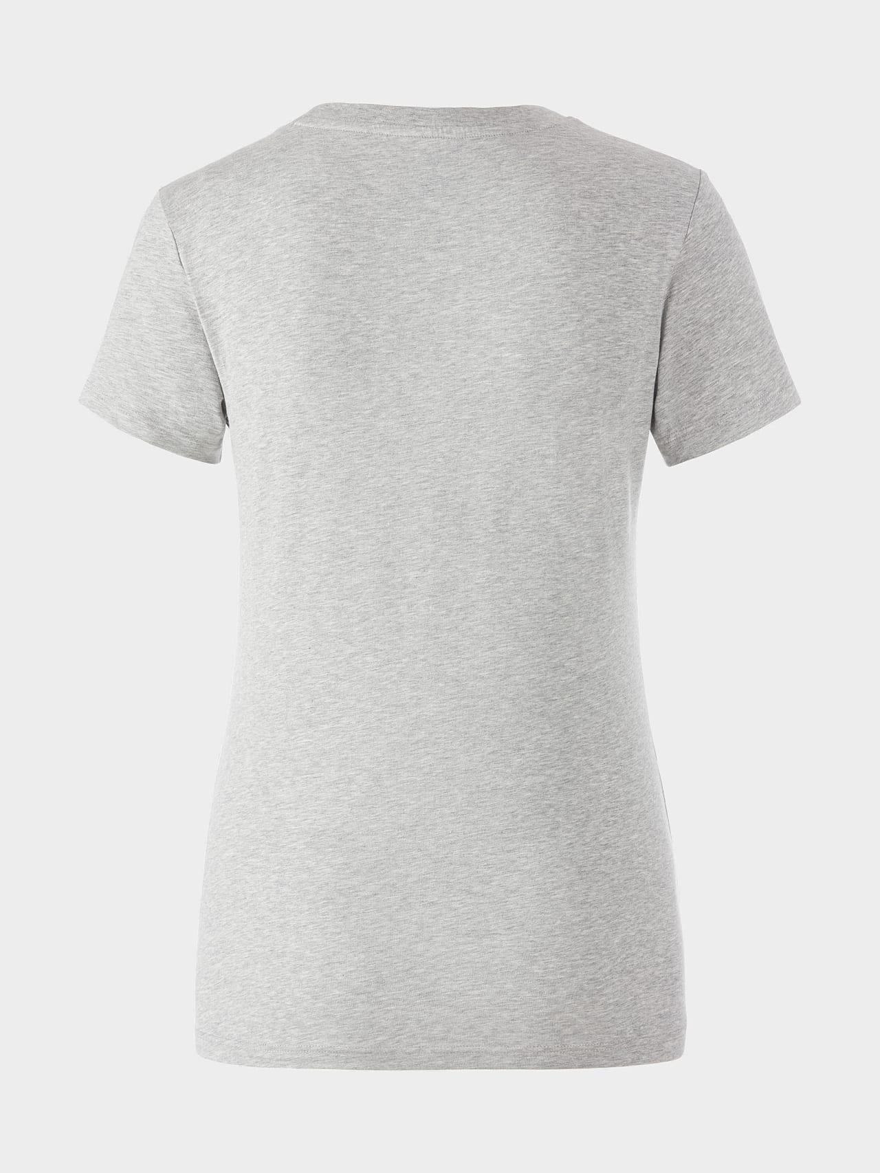 JALP V4.Y5.01 Cotton Logo T-Shirt grey / melange Left Alpha Tauri