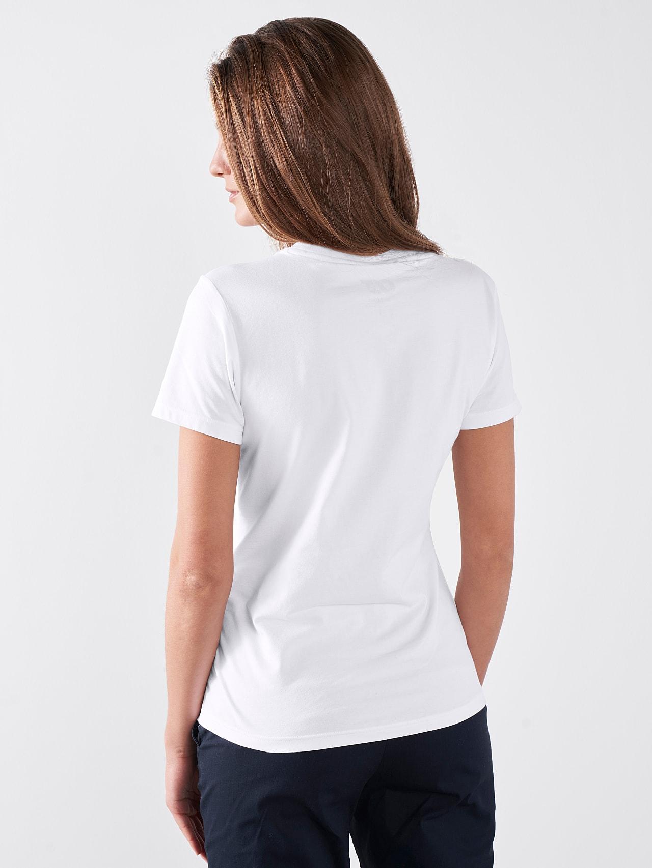 JALP V4.Y5.01 Cotton Logo T-Shirt white Front Main Alpha Tauri