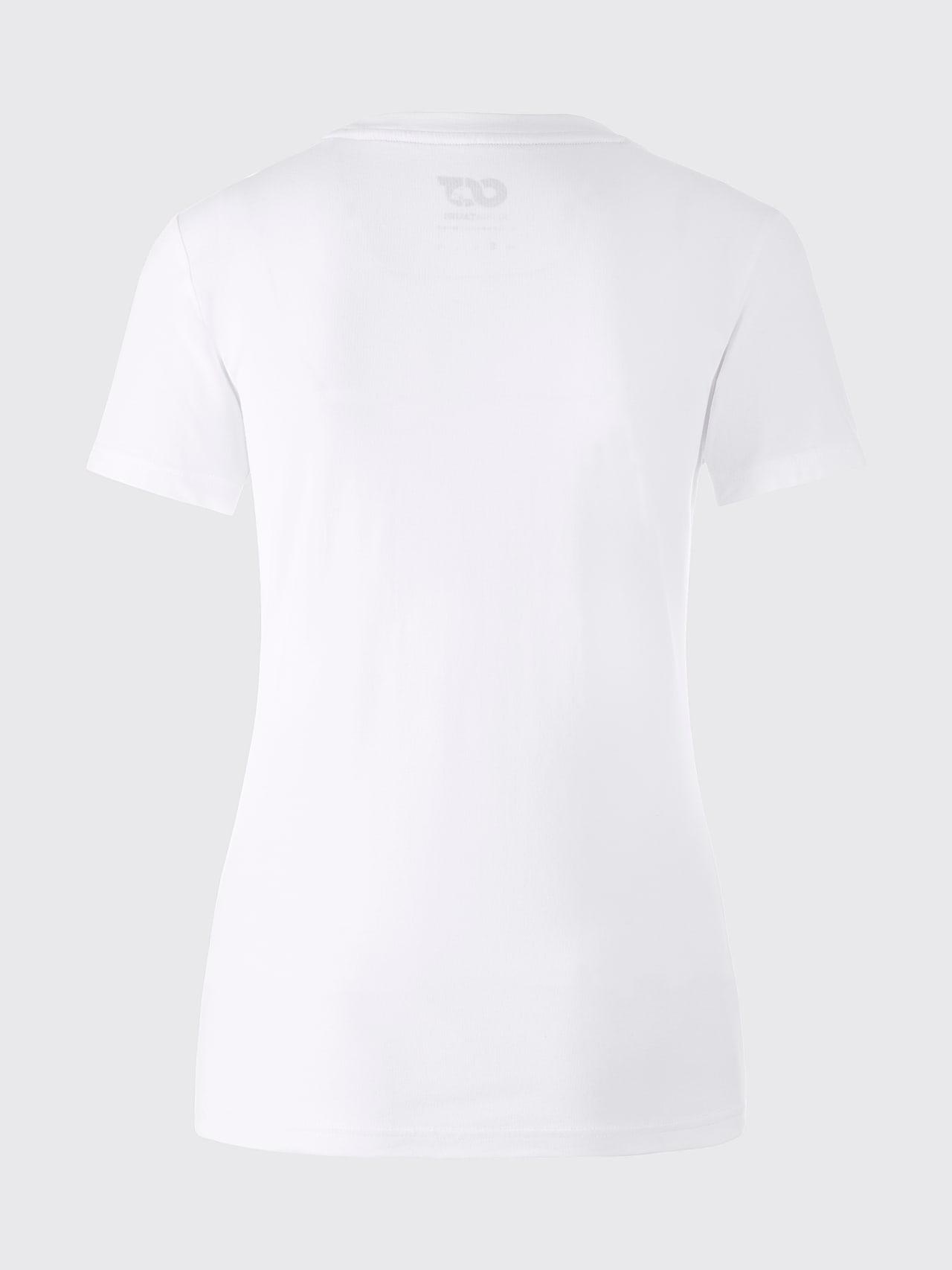 JALP V4.Y5.01 Cotton Logo T-Shirt white Left Alpha Tauri