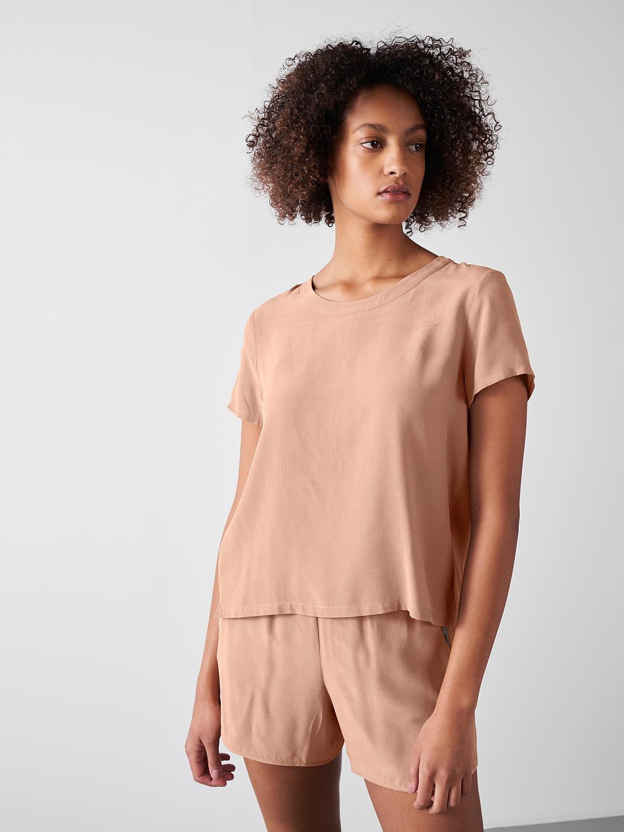 Silk Touch Cupro T-Shirt