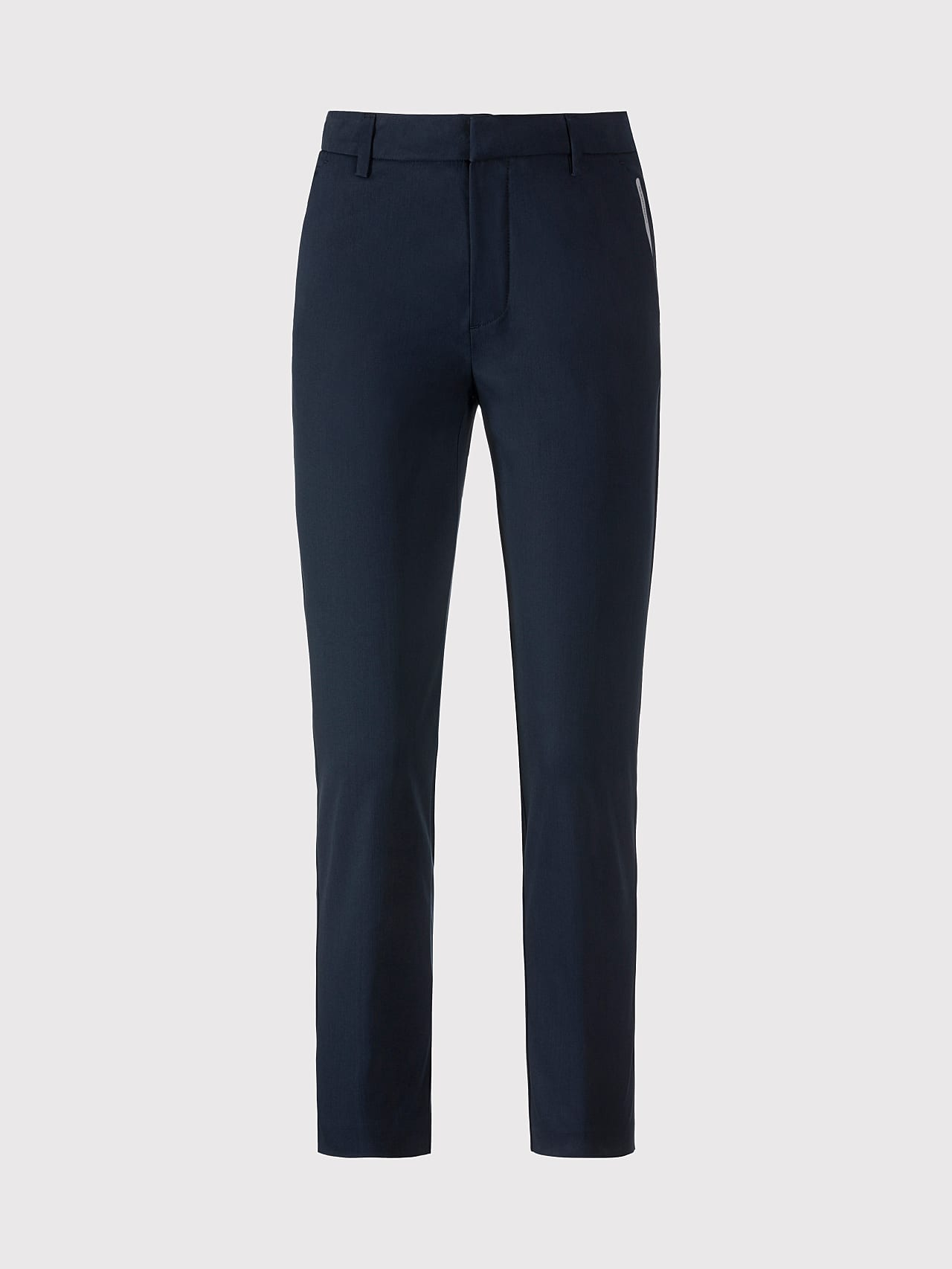 PEPPI V1.Y5.01 Water-Repellent Cotton-Twill Chino navy Back Alpha Tauri