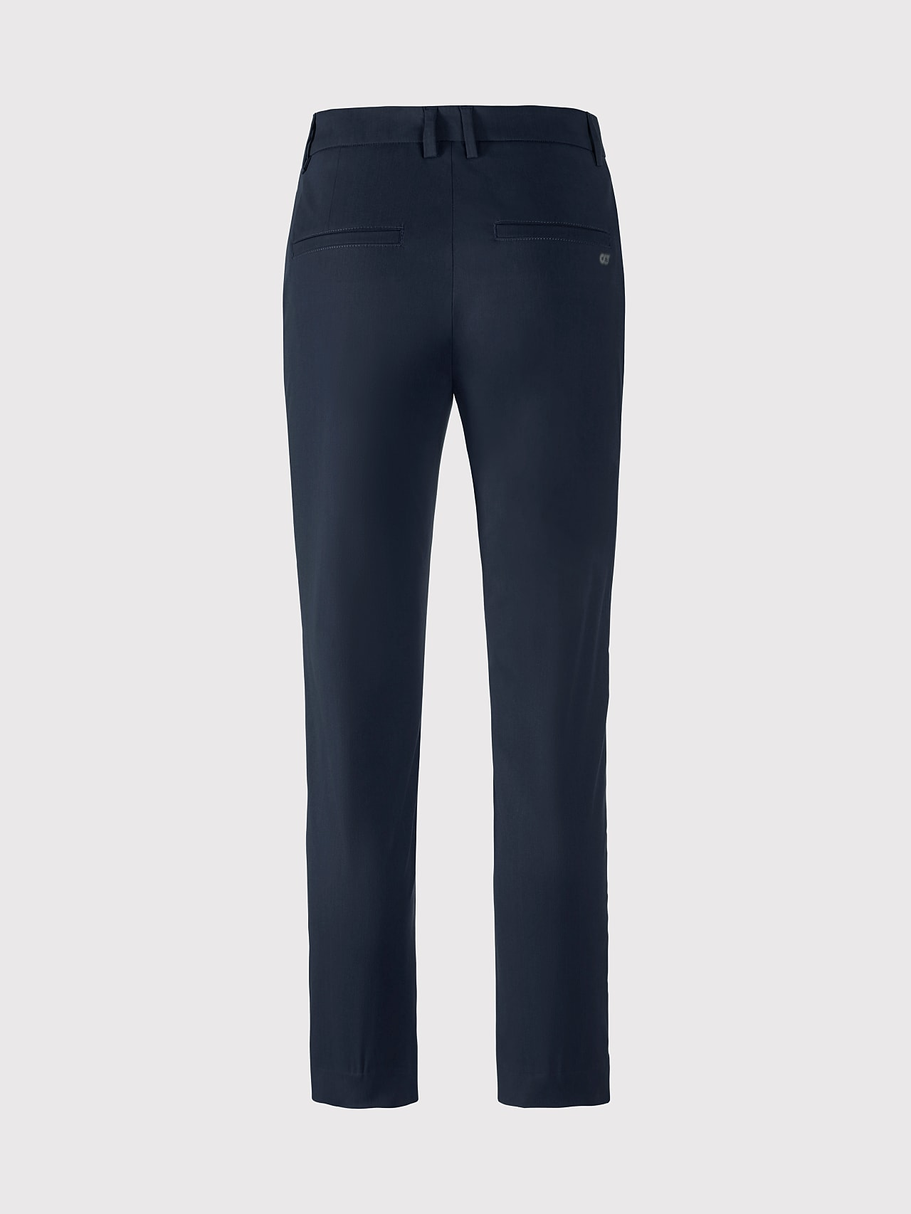 PEPPI V1.Y5.01 Water-Repellent Cotton-Twill Chino navy Left Alpha Tauri