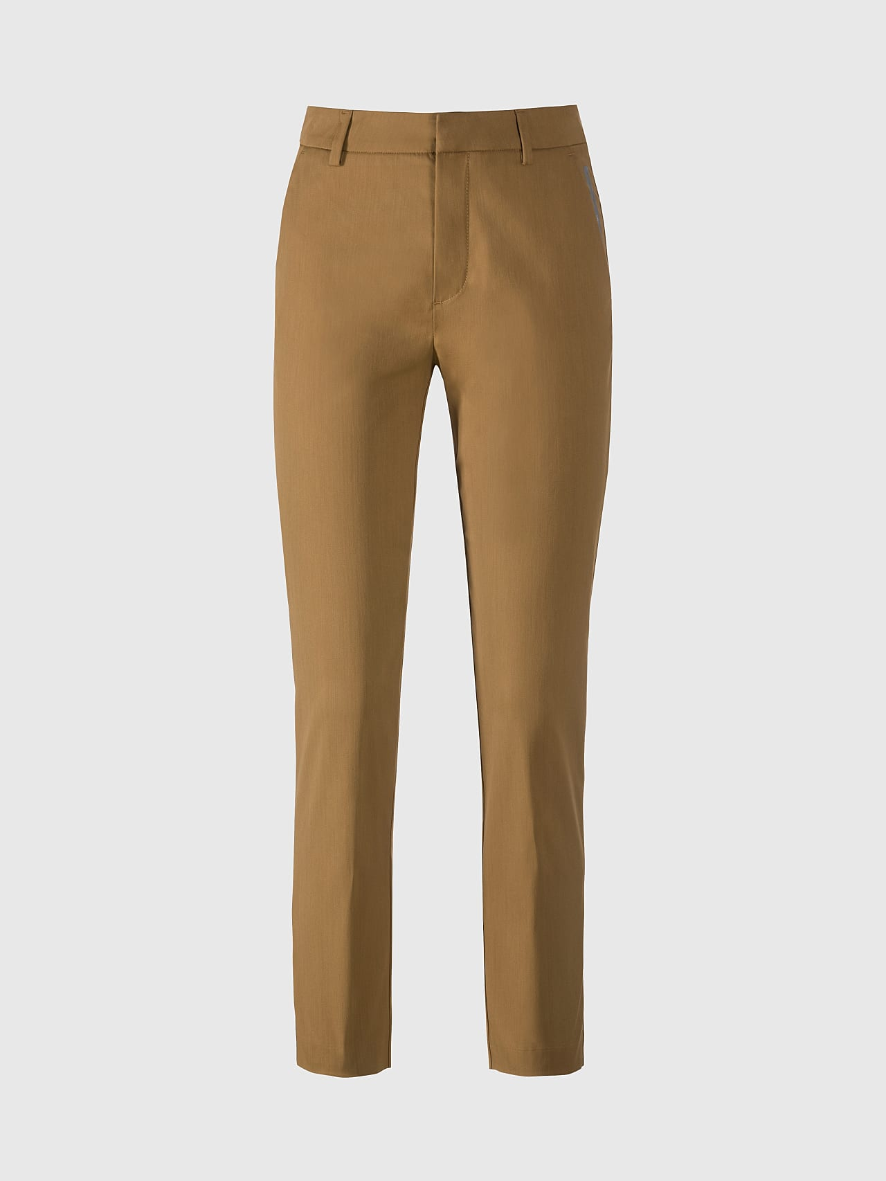 PEPPI V1.Y5.01 Water-Repellent Cotton-Twill Chino brown Back Alpha Tauri