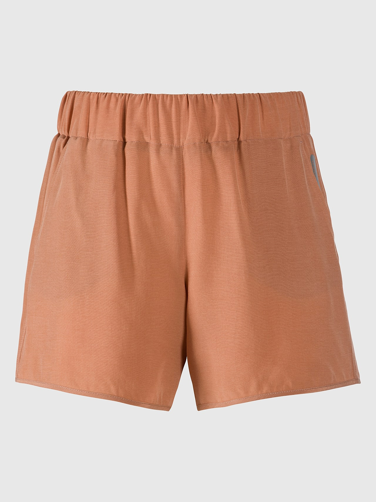 PHORT V1.Y5.01 Relaxed Cupro Shorts rose Back Alpha Tauri