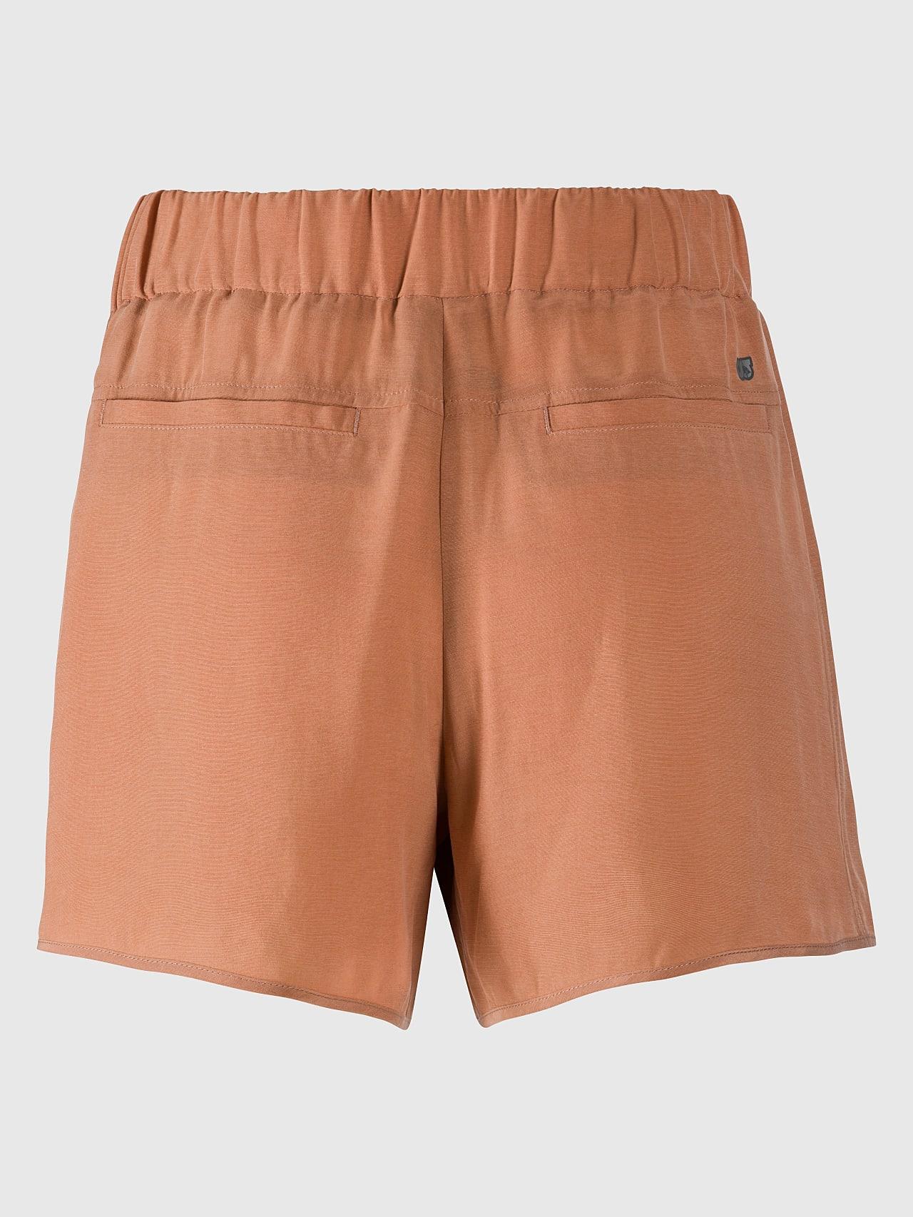 PHORT V1.Y5.01 Relaxed Cupro Shorts rose Left Alpha Tauri