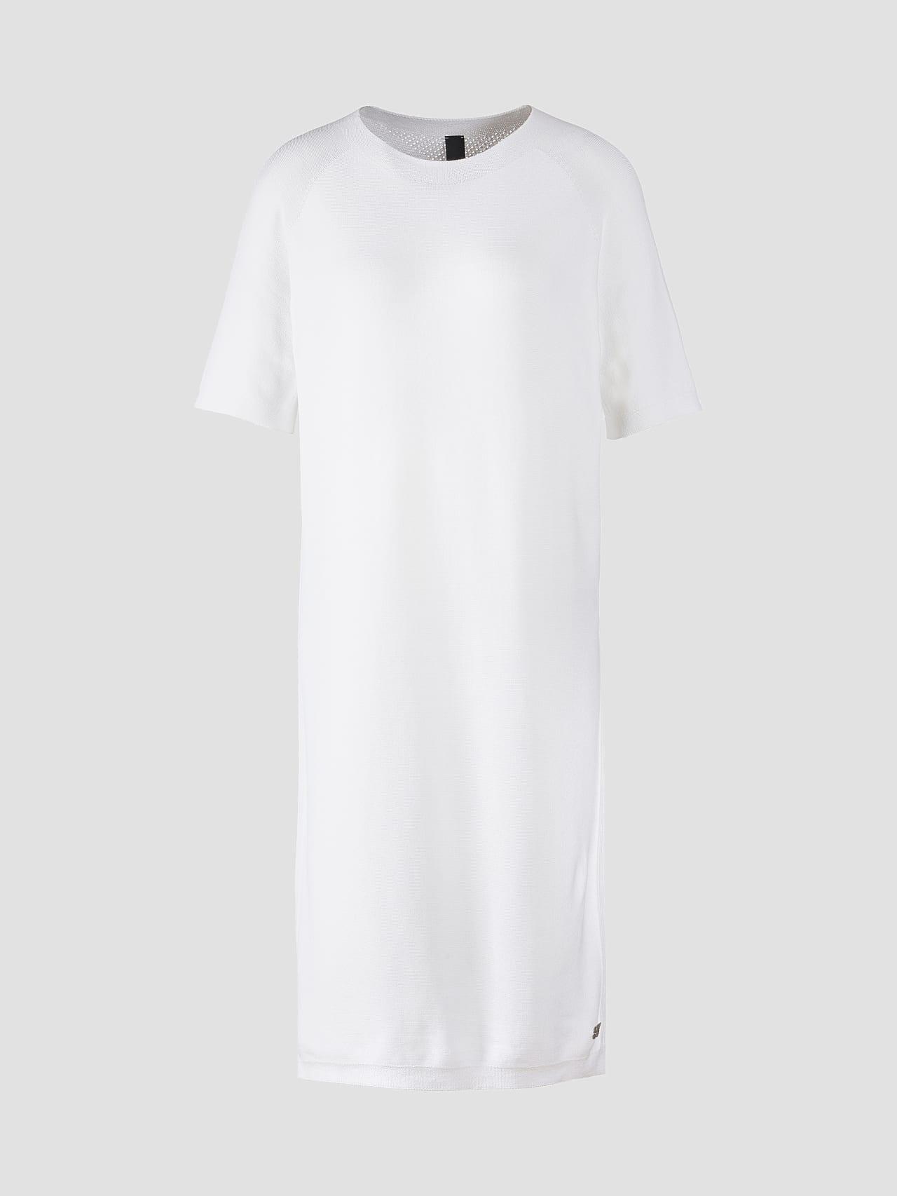 FZORF V1.Y5.01 Seamless Knit Dress white Back Alpha Tauri