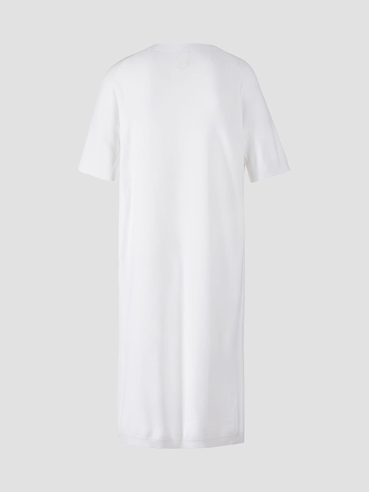 FZORF V1.Y5.01 Seamless Knit Dress white Left Alpha Tauri
