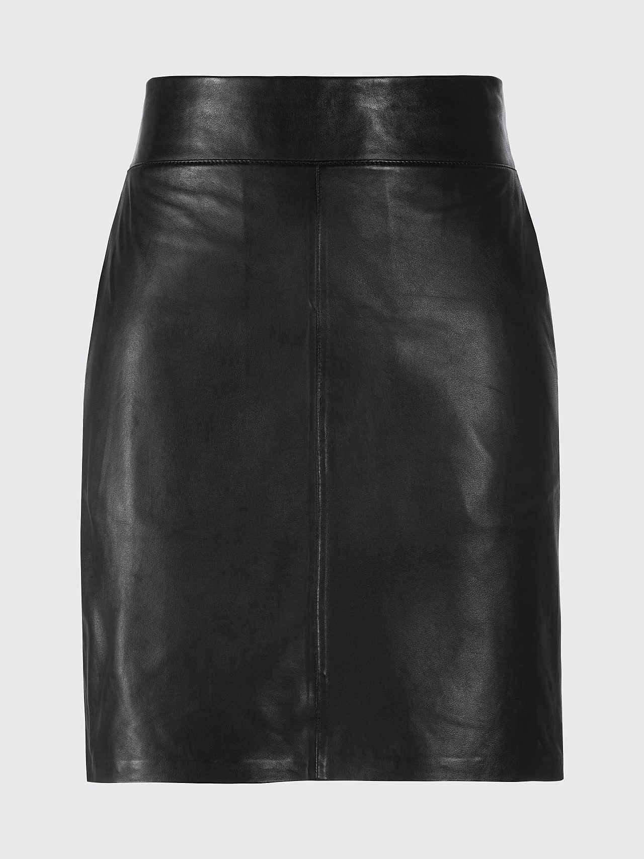 LEXSI V1.Y5.01 Leather Pencil Skirt black Back Alpha Tauri