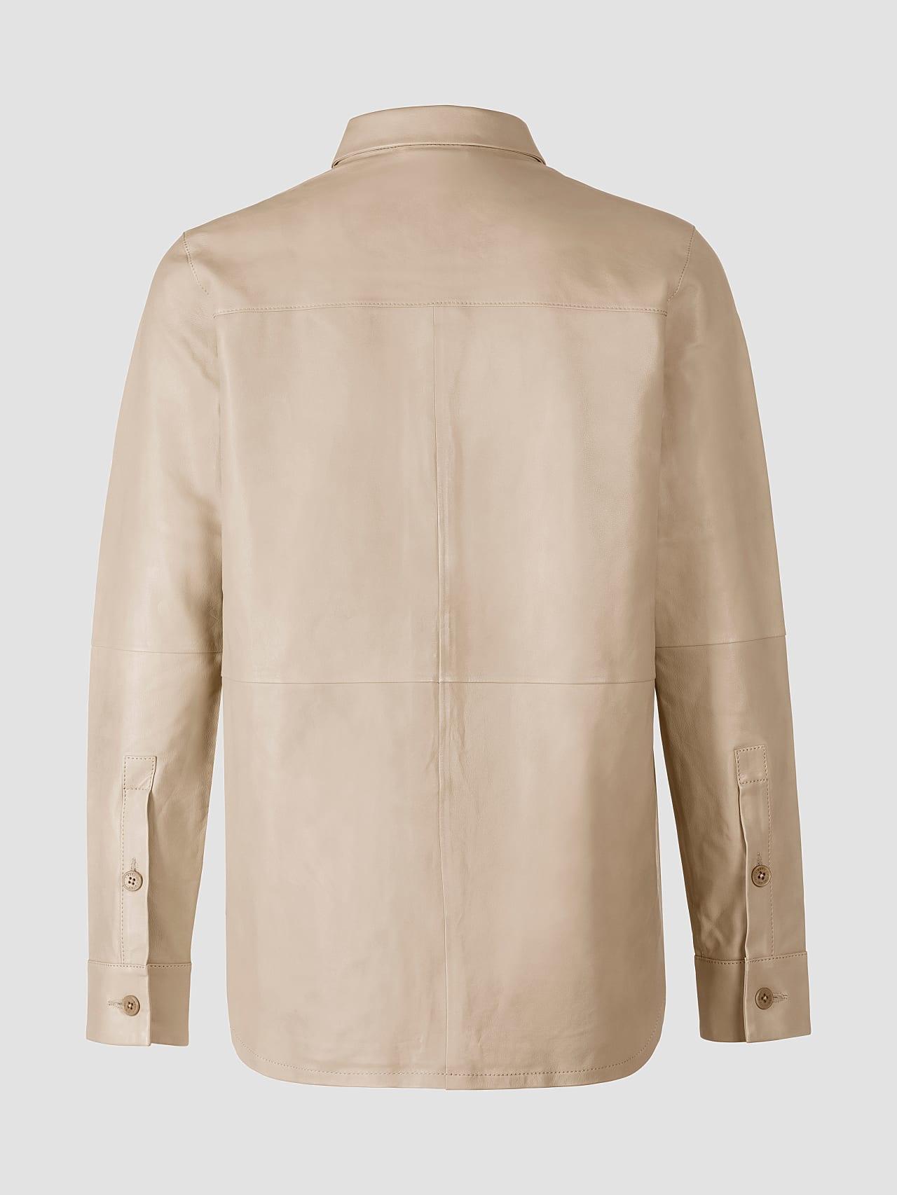 LEORD V1.Y5.01 Leather Shirt Sand Left Alpha Tauri