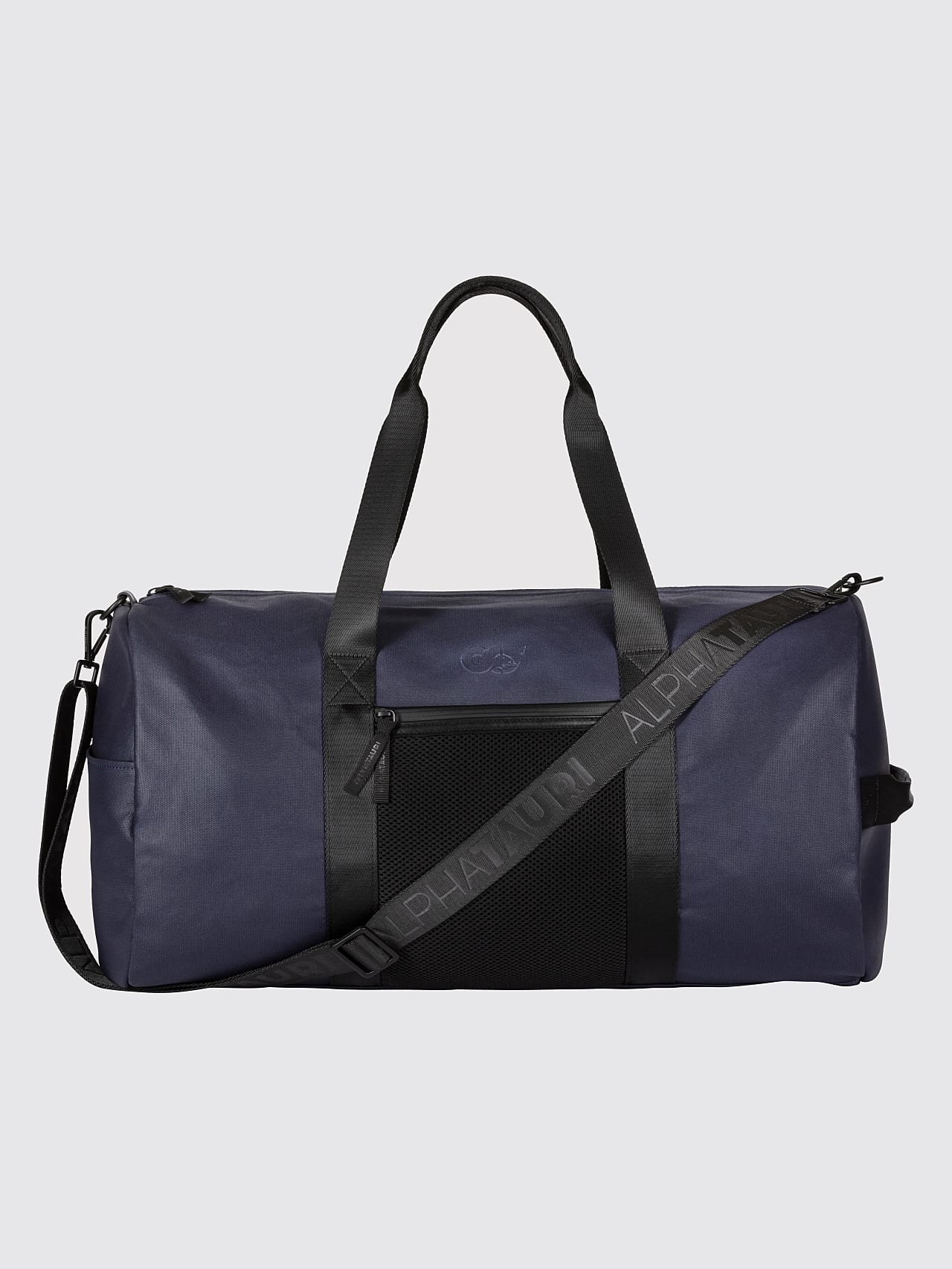 AWEE V3.Y5.01 Water-Resistant Duffle Bag navy Front Alpha Tauri
