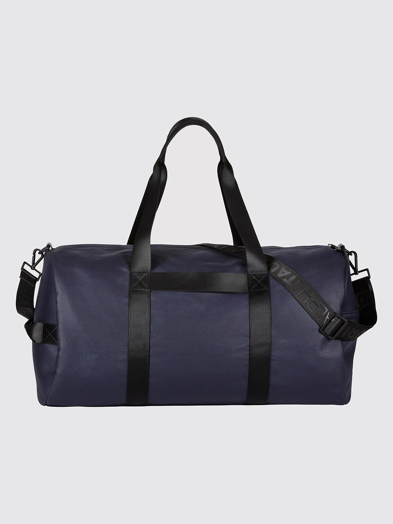 AWEE V3.Y5.01 Water-Resistant Duffle Bag navy Left Alpha Tauri